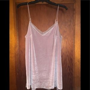 Free people velvet tank /Brand New With Tags